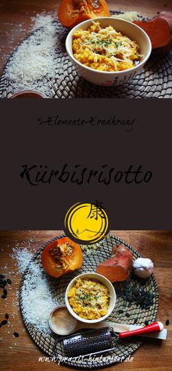 Kürbisrisotto, 5-Elemente-Ernährung, TCM