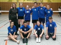 Volleyballteam 2015/2016