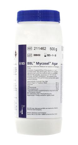 211462 BD BBL™ Agar Mycosel, 500 g