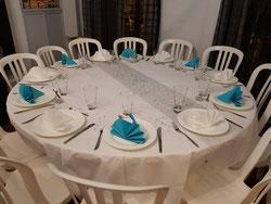 tables rondes  à louer marseille 13006