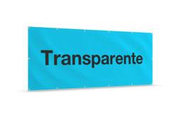 Transparente, Bauzaunblenden