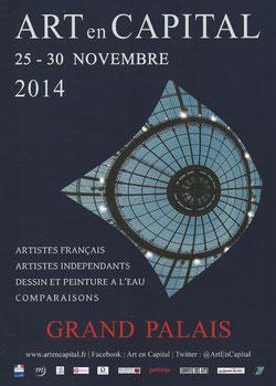 Claude Rossignol - Affiche Salon des Artistes Français 2014