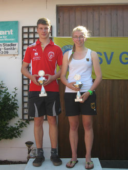 Magdalena Gruber und Johannes Silberbauer holen sich den Tagessieg