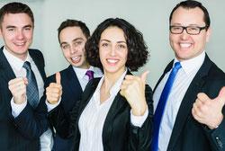 Business Team Entwicklungsmöglichkeiten Projektmanagement Projektberater Automotive