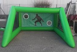 Torwand Verleih Frankfurt Eventmodule günstig mieten Fussballmodule Billiard Tischkicker Menschenkicker