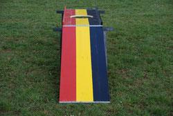 Bürogolf spielen Frankfurt Hessen Eventmodule Verleih Minigolf und Fussballgolf mieten