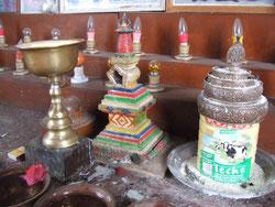 灯明と仏塔