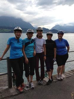 Steffi, Connie, Sabine, Daniela und Anita.