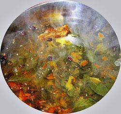 Ein Blick in den Teetopf mit allen Zutaten - Foto: byskb2013