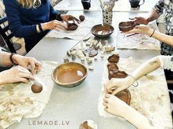 Keramikas nodarbības pieaugušajiem
