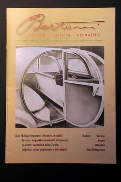 """""""Bertoni"""" trimestrale d'informazionedella """"Associazione Internazionale Flaminio Bertoni"""