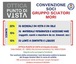 """Convenzione """"Ottica Punto di Vista"""" - ALA"""