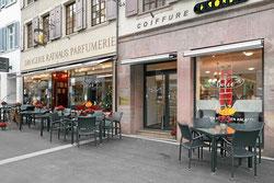 Konditorei, Café, Restaurant Liestal beim Bahnhof
