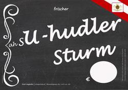 sU-hudler - Plakat - Rudi Weghofer - winzerclub.at - Sturmzeit