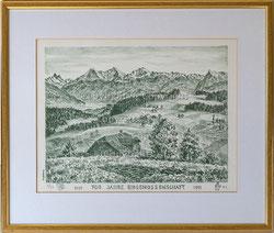 Nr. 2829 Landschaft Berner Alpen