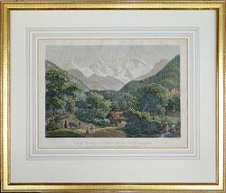 Nr.1953; Vue des Montagnes de Eiger, Mönch et de la Joungfrau