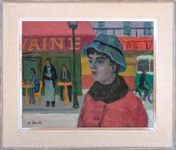 Nr. 3619 Dame au Chapeau