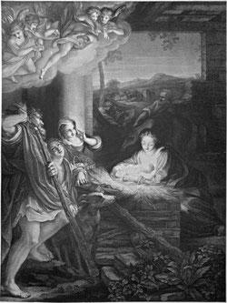 """""""Christi Geburt"""" wird auch als """"Die Nacht"""" betitelt."""