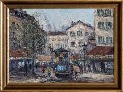 Nr. 3248 Pariser Strassenszene