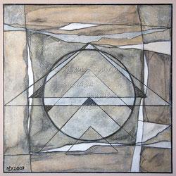 Nr. 1495 Komposition mit Dreiecken