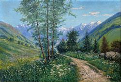 Nr.2663 Berglandschaft