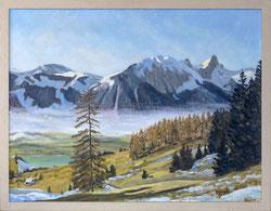 Nr. 3475 Berglandschaft mit Stockhorn