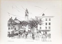 Nr. 3182 Viehschau Stadthausplatz Unterseen