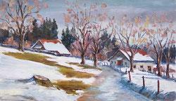Nr.585 Erster Schnee im Jura
