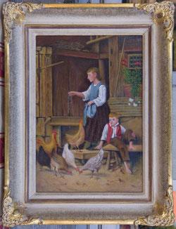 Nr.0240; Hühnerfütterung