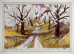 Nr.2756 Blühende Bäume