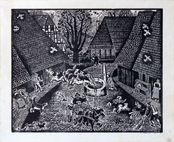 Nr.3312 Heiteres Dorfleben