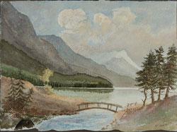 Nr.1012 Bergsee-Landschaft