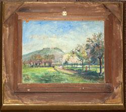 1852; Rückseitiges Gemälde