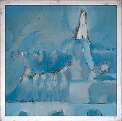 Nr. 2835 Leuchtturm im Nebel