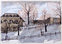 Nr. 2931 Häuser im Winter