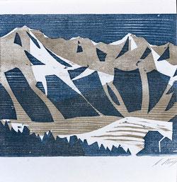 Nr.1834 Wo Berge sich erheben...