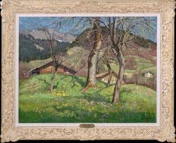Aprilsonne, Umgebung Brienz