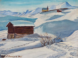 Nr.288 Winterlandschaft bei Arosa