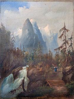 Nr.1635 Ziegenhirtin/ Well-Wetterhorn