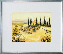 Nr. 2672 Landschaft Toscana