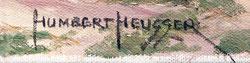 HEUSSER  HUMBERT