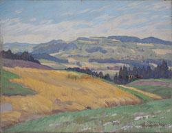 Nr.1699/RB669 Landschaft bei Heimberg