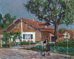 Nr.682  Dorf-Szene