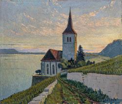 Nr. 2872 Kirche Ligerz, Bielersee