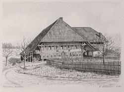 Büelfeld bei Affoltern im Emmental Nov.1982