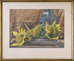 Nr. 3457  Liegende Sonnenblumen