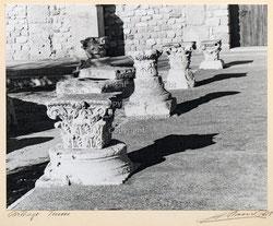Nr.3567 Säulenelemente in Carthago, Tunis