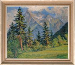 Nr. 3177 Niesen und Bergwald