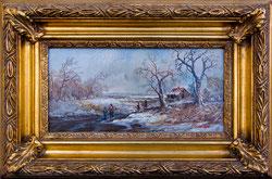 Nr.952 Winterlandschaft mit Figuren