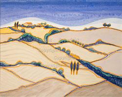 Nr. 1494 Landschaft Toscana